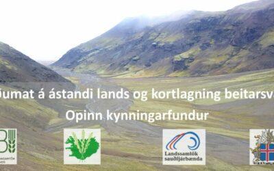 Stöðumat á ástandi lands og kortlagning beitarsvæða
