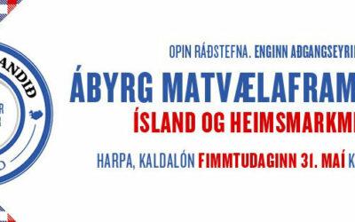 Ábyrg matvælaframleiðsla – Ísland og heimsmarkmið sameinuðuþjóðanna